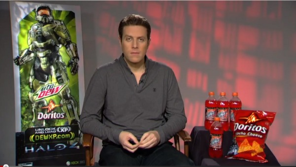 Geoff Keighley product placement