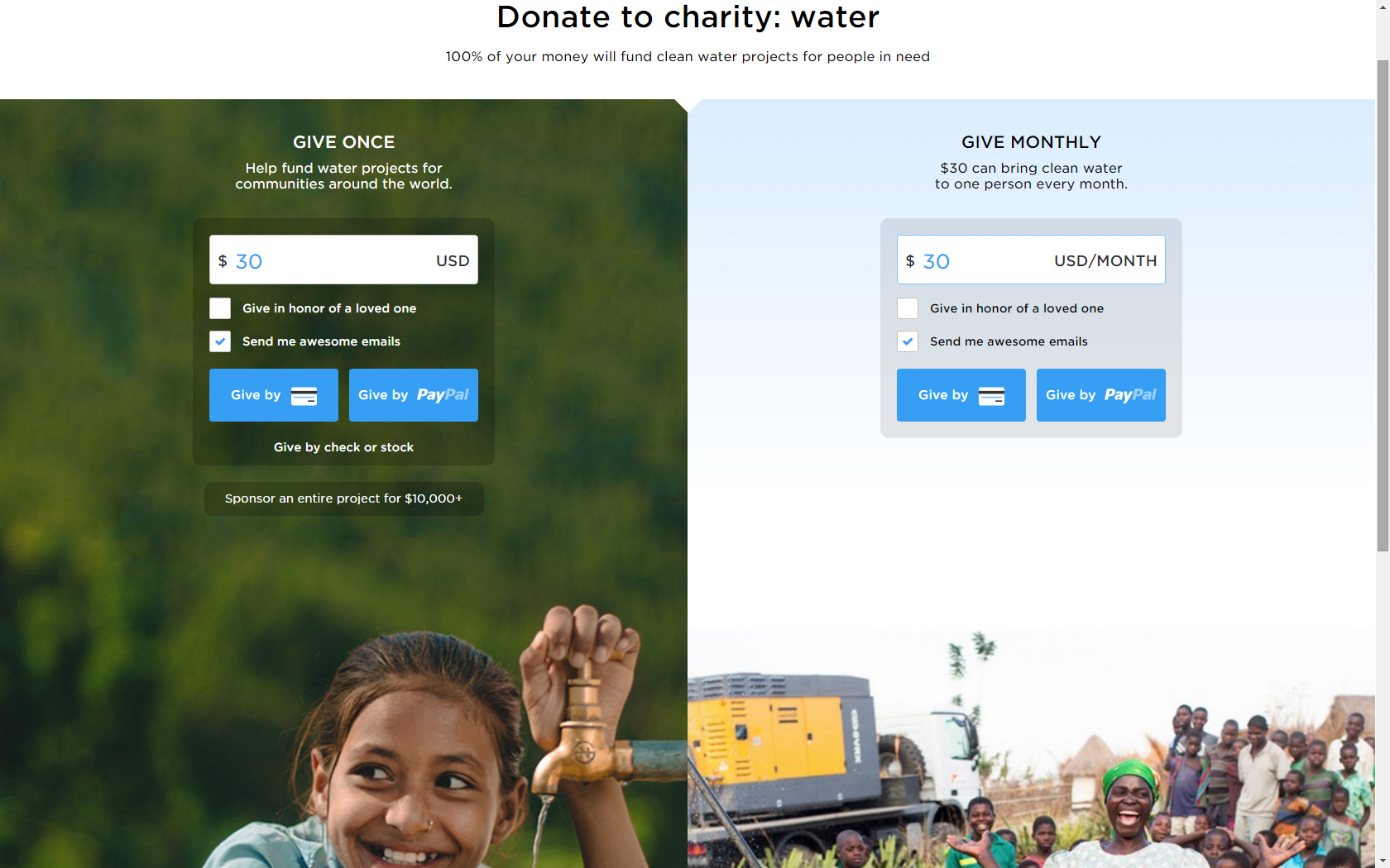 charity water 1
