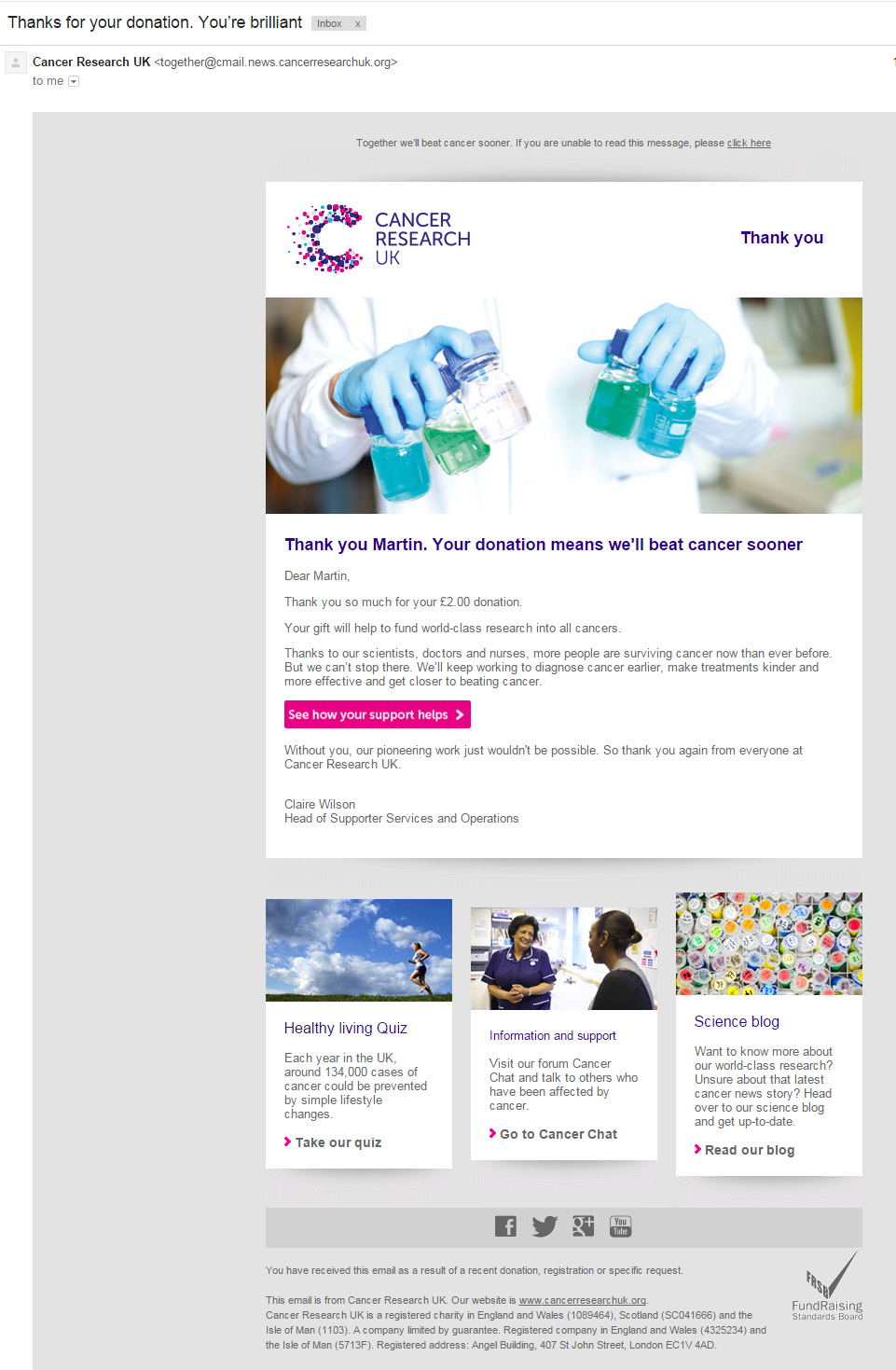 cancer research uk 6